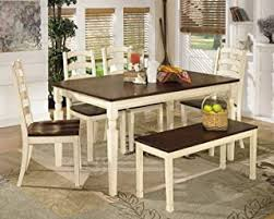 6 Pieces - Table & Chair Sets / Kitchen & Dining ... - Amazon.com