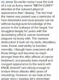 Cancer survivor describes 'hurt' after his images were used in ... via Relatably.com