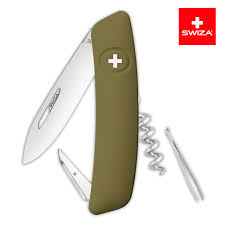 <b>Швейцарский нож SWIZA D01</b> Standard, 95 мм, 6 функций, темно ...