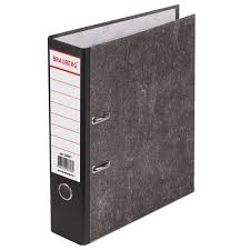 Купить <b>Папка</b>-<b>регистратор BRAUBERG</b>, фактура <b>стандарт</b>, с ...