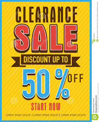 clearance flyer banner or template stock photo image clearance flyer banner or template
