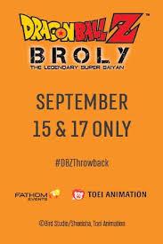 <b>Dragon Ball Z</b>: <b>Broly</b> – The Legendary Super Saiyan at an AMC ...