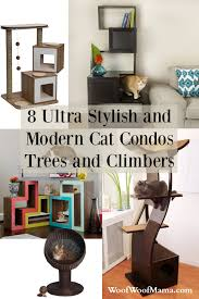 8 ultra stylish and modern cat condos trees and climbers for your refined feline cat modern furniture