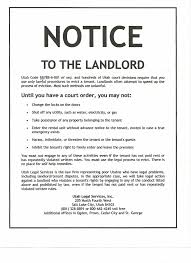 day notice letter to tenant from landlord info 750970 property notice letter landlord tenant notices