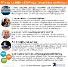 things you need to know about goodwill northern michigan know your source get the facts and think before you donate