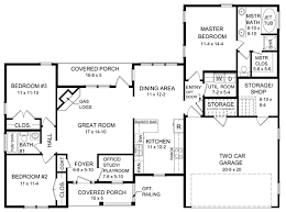 House Plan at FamilyHomePlans comCape Cod Ranch Traditional House Plan Level One