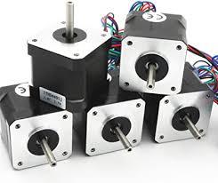 Amazon.com: 5Pcs <b>Nema 17 Stepper</b> Motor <b>40mm</b> 64oz-in 45Ncm ...