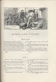 irving s romeo and juliet and the identity of illustrated editions the play s start moves away from any other configuration of the play presenting it in a manner peculiar to the illustrated edition and a result
