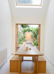 dining table in narrow size two wood benches as the dining chairs bedroomendearing small dining tables mariposa valley