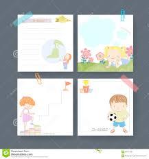 adorable memo paper template design stock vector image 58731200 adorable memo paper template design