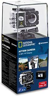 <b>National Geographic</b> Full HD Action Camera 12 MP avec Objectif ...
