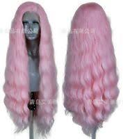 US Trolls <b>magic hair</b> Cosplay Wig Pink <b>Synthetic hair</b> None <b>Lace</b> ...