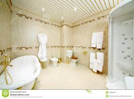 clean bathroom with bath shower cabin toilet and bidet bathroom shower toilet