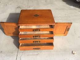 antique c1920 tiger oak 4 drawer file cabinet jewelry apothecary apothecary furniture collection