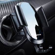 <b>Baseus Future Gravity</b> Round Air Vent Car Mount Phone Holder