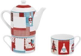 """<b>Набор чайный</b> """"<b>Новогодняя</b> история"""" на 2 персоны арт. 8909 в ..."""