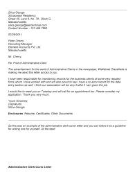 Jobs Administrative Clerk Cover Letter Sample For Resume Cover     SlideShare Application Letter Administration Clerk Ibps Exam      Apply Online For Po Clerk Rrb Specialist Draft Professional