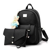 Buy Redlicchi Girls 2-PCS <b>Fashion Backpack</b> Cute <b>Mini</b> Leather ...