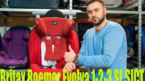 Подробный обзор <b>Britax Roemer Evolva</b> 1-2-3 SL SICT - YouTube