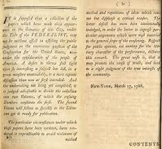 federalist essay federalist papers