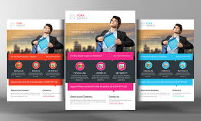 product promotion flyer template flyer templates on creative market marketing flyer template