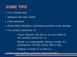 opinion essay ppt 4 some