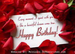 Romantic Birthday Wishes Messages, Greetings and Wishes - Messages ...