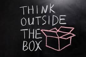Image result for think outside the box quotes