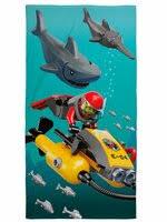 «<b>Полотенца Lego Полотенце</b> city shark 70х140» — Текстиль для ...