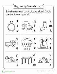 1000+ ideas about Phonics Worksheets on Pinterest | Phonics, Free ...Kindergarten Phonics Worksheets: Review Beginning Sounds R, S and T