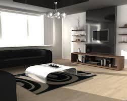 modern minimalist stylish living room