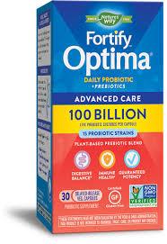 <b>Fortify</b>™ <b>Optima</b>® Max Potency 100 Billion <b>Probiotic</b> - Nature's Way®.