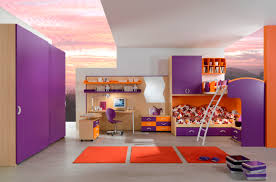 funky teenage bedroom furniture  magnificent teenage bedroom decoration with various cool teenage bunk bed incredible purple orange bedroom decoration