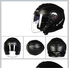 LS2 Infinity <b>Motorcycle Helmet</b> Jet <b>Scooter Open</b> Face Casque ...