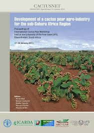 (PDF) Development of a cactus pear agro-industry for the sub ...