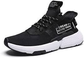 <b>Men's Running Shoes Lightweight</b> Sports Trainers Gym Walking ...