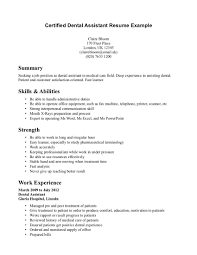 dental assistant resume samples berathen com dental assistant resume samples and get inspiration to create a good resume 16