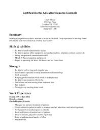 dental assistant resume samples com dental assistant resume samples and get inspiration to create a good resume 16
