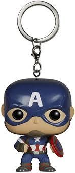<b>Funko</b> - Pocket <b>POP</b> Keychain: Marvel - Avengers 2 - Cap Ame ...