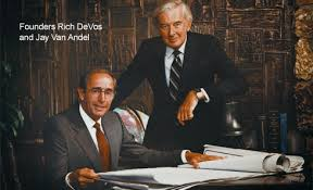 Amway Co-founders Rich DeVos and Jay VanAndel
