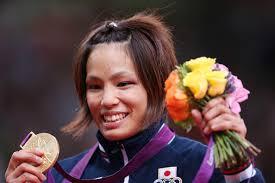 Kaori Matsumoto of Japan wears her medal after winning the Women's -57 kg Judo on Day 3 of the London 2012 Olympic Games at ExCeL ... - Kaori%2BMatsumoto%2BOlympics%2BDay%2B3%2BJudo%2BlRPG9NbO0Yrl