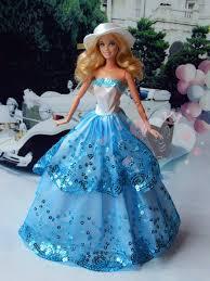 Handmade Barbie doll clothes <b>High</b>-<b>grade</b> dress wedding dress ...