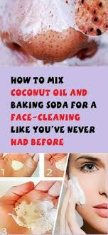 34+ Ideas diy <b>face</b> mask for acne coconut <b>oil baking</b> soda for 2019