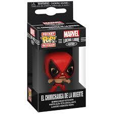 Funko Pocket POP! Keychain: Marvel: Luchadores: <b>Deadpool</b> ...