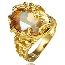 <b>designer</b> jewelry gold zircon rings 18k gold plated <b>hollow out flowers</b>