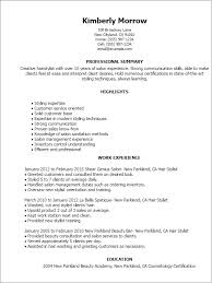 resume example  hair stylist resume examples hair stylist resume        resume example  salon management experience hair stylist resume examples greeted customers and consulted them desired
