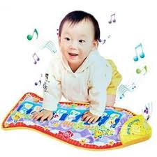 Details about New Musical Music Kid Piano Play <b>Baby</b> Mat Animal ...