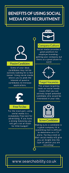 benefits of using social media for recruitment somehiresomehire using social media for recruitment company culture