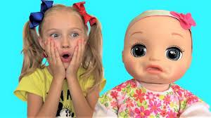 Говорящая <b>кукла Baby Alive</b> хочет кушать Сборник лучших видео ...