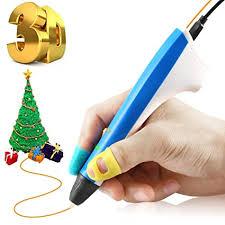 <b>3D Printing Pen</b> Drawing Arts Modeling Printer PCL Filaments Xmas ...